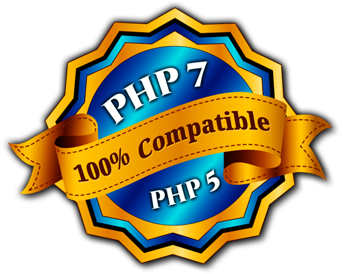 Totalmente compatible con PHP 7